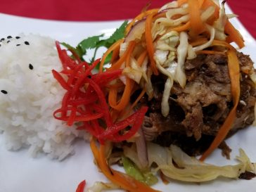 Asian Pulled Pork & Rice