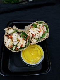 Honey Dijon Chicken Wrap