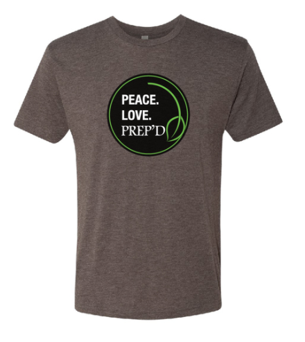 Peace. Love. PREP'D Tri-Blend T-shirt